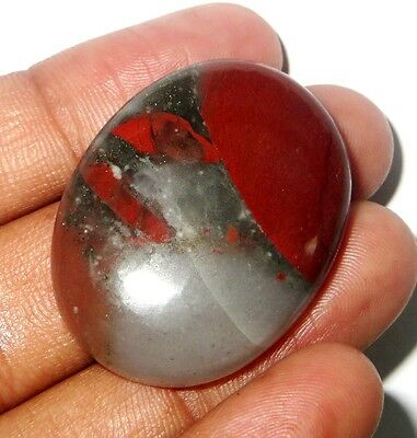 68Cts. Wow AAA Natural Bloodstone Cabochon Gemstone 1225