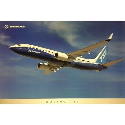 B737NG Flying poster , New Boeing House Colours JPB737-FL-3 New!