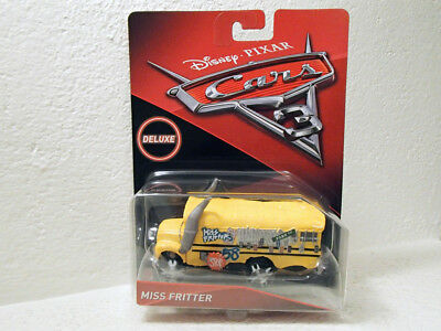 CARS 3 Disney/Pixar: Miss Fritter Deluxe Diecast Vehicle [DXV94] NEW & SEALED