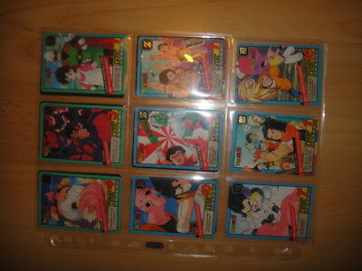 Lot De 15 Cartes Cards Carddass Bandai 1996 Power Level French Francaise