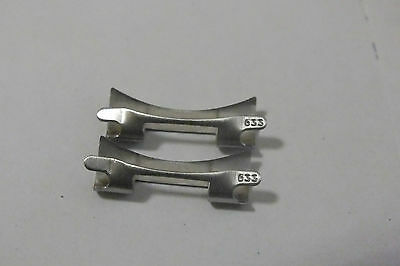 OMEGA 20mm End LINK 633 for Speedmaster MOONWATCH one pair 70er