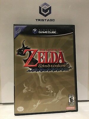 Legend of Zelda the Wind Waker GameCube Complete! [Black Label]