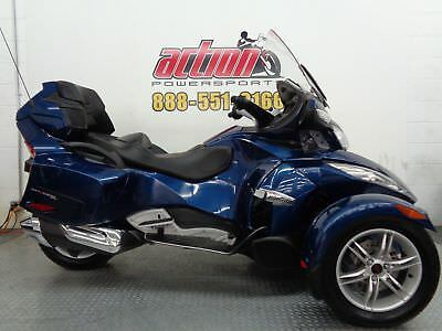 Can-Am Spyder RT SE5  2011 Can Am Spyder RT SE5 Touring Trike Financing shipping