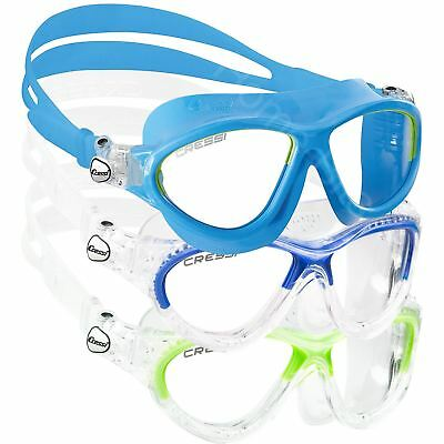 053b56d3358 Cressi Mini Cobra Kids Swimming Goggles Mask Anti-fog Lens Junior Age 7-15