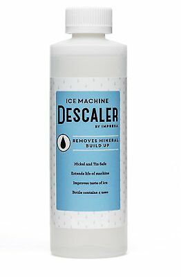Ice Machine Cleaner / Descaler - 4 Uses Per Bottle - Made in USA - Works on and