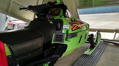 Arctic Cat Snowmobile 1998, with Triton Trailer, Bear Cat Top, For Two People.