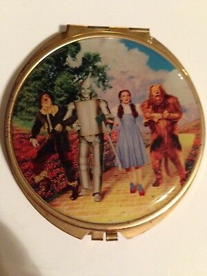 Double-Mirrored Compack-- Wizard of Oz    Warner Bros. Studio Store 1998