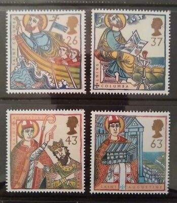 Gb 1997 Religous Anniversaries Mnh Stamp Set (Free Postage Offer See Details)