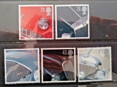 Gb 1996 Sports Cars Mnh Stamp Set (Free Postage Offer See Details)