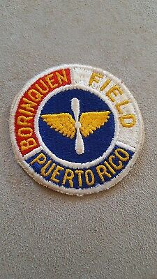 WW2 US Vintage Army Air Corps Patch Borinquen Field Base #136