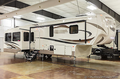 New 2018 Model 37MBH Mid Bunk Luxury 4 Four Season bunkhouse 5th Fifth Wheel