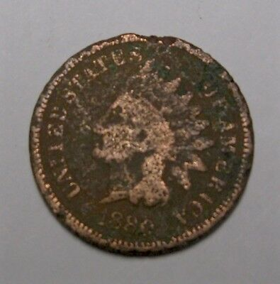 1880 Usa Indian Head - Small Cent  - Filler -  Auction Lot