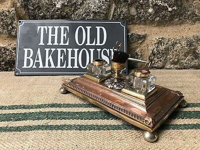 A Victorian Inkstand by Walker &Hall