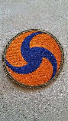 WW2 US Army Air Corps Patch General HQ Reversed Pinwheel Whiteback #153