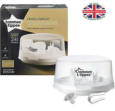 Tommee Tippee Microwave STEAM STERILISER *BRAND NEW*