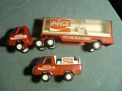 buddy l coca cola trucks