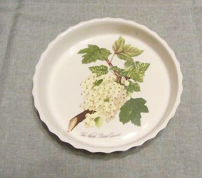 Rare And Retired Pomona Dutch White Currant Fluted Flan Dish
