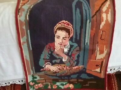 french needle point tapestry