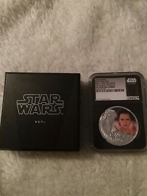Star Wars silver Ngc Rey 1oz 2016 Niue $2 Early Release Pf 70 Ult Cam