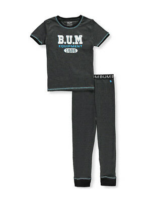 BUM Equipment Boys' 2-Piece Pajamas