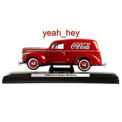 1940 Ford Model Collectible Coca-Cola Vintage Delivery Van 1:24 Scale