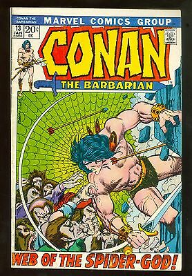 Conan The Barbarian # 13, Year of Spider-God, Jan 1972, Barry Smith, 7.5-8.5