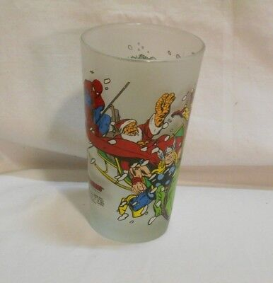 Yuletide Toon Tumbler      Pint      Frosted      Marvel      Rare      HTF !