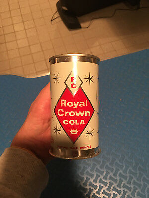 Nice RC Cola Flat Top Soda Can - 1950's