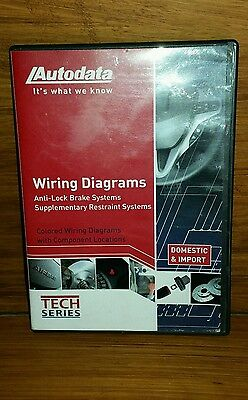 2011 Wiring Diagrams DVD AUTODATA 11-CDX660 TECH SERIES DOMESTIC & IMPORT