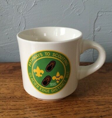 Boy Scouts BSA Coffee Cup/Mug Pathways To Scouting Glacier Edge District XVIII