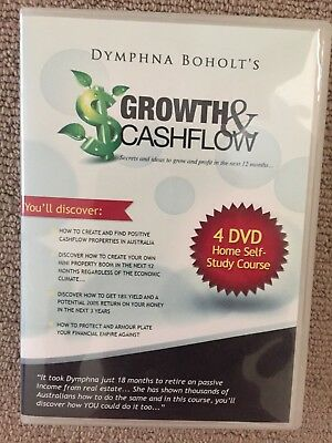 Dymphna Boholts Growth and Cashflow Training 4 DVDs