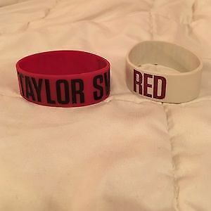 Selling 2x Taylor Swift Red Tour Bracelets