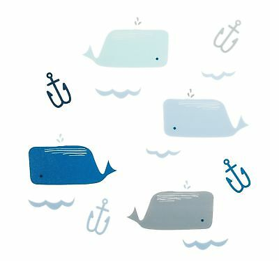 Cloud Island Nautical Blue Wall Decals 30 pcs - 2 packs! - nursery decals beach