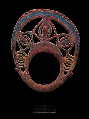 One of its Kind Ancient Pre Abelam Yangoru Head Ornament 19th century or earlier