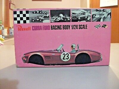 Vintage Original  # R-3262:150 Revell COBRA Ford Racing Body 1:24 Scale Boxed