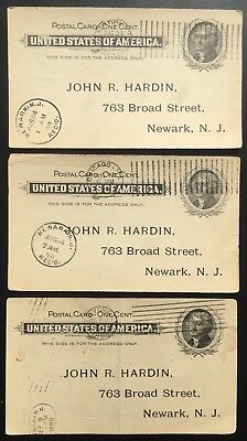 North American Phonograph Company ~ 1898 One Cent Postcard Collection