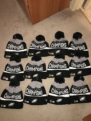 NEW ERA PHILADELPHIA Eagles Super Bowl LII Champions Parade Knit Hat ... 6b7ab9f80