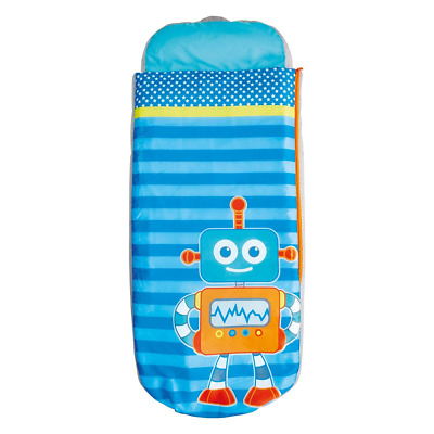 Robots Boys Junior ReadyBed - Kids Airbed and Sleeping Bag in one