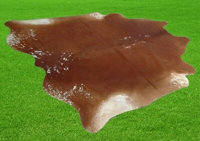"""New Cowhide Rugs Area Cow Skin Leather 29.28 sq.feet (68""""x62"""") Cow hide A-512"""