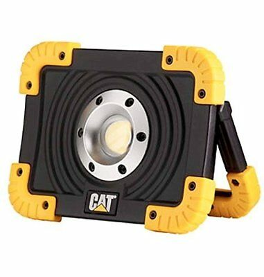 NEW CAT Rechargeable Heavy Duty LED Work Light Lamp Torch Indoor Outdoor,1100 LU