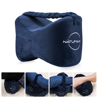NATUMAX Knee Pillow, Pressure Pain Relief for Side Sleepers, Back Injuries, Hip