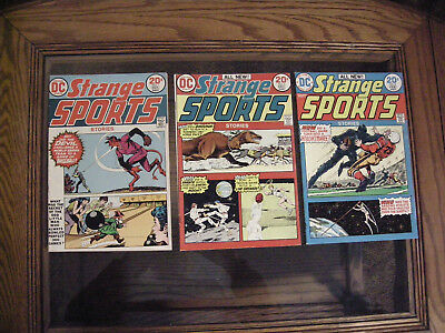 Strange Sports Stories #1 2 3 Comic DC Comics Lot