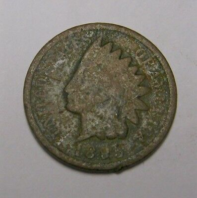 1895 Usa Indian Head - Small Cent  -  Auction Lot N/r