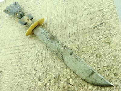 Antique Guatemalian Male Ceremonial Fighting Dagger Dirk Knife Hunting Knives Nr