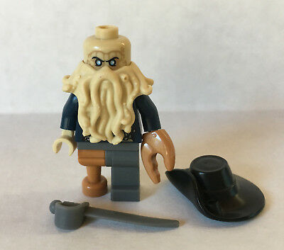 Lego Davy Jones Minifigure Pirates Of The Caribbean 4184 Black