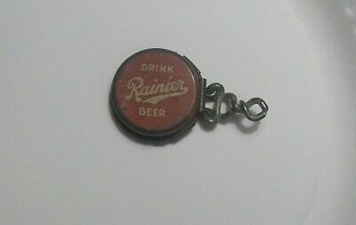 Vintage Rainier Beer Bottle Cap Saver Top