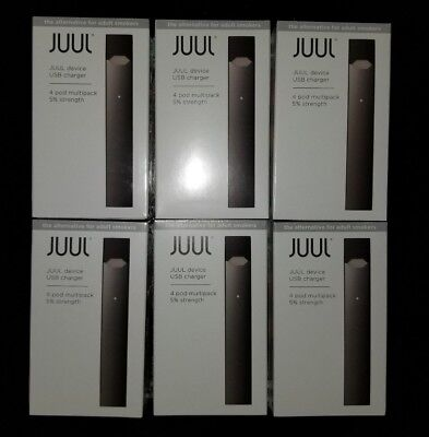 Brand New Juul-Device + Charger - Starter Kit - Latest Version! Fast Shipping