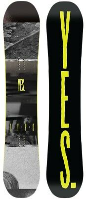 Yes. The Typo Hybrid Camber Snowboard, 158cm 2018