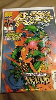 Alpha flight 17 first appearance of Big Hero 6 key issue