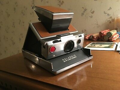 Polaroid SX-70 Land Camera tested works